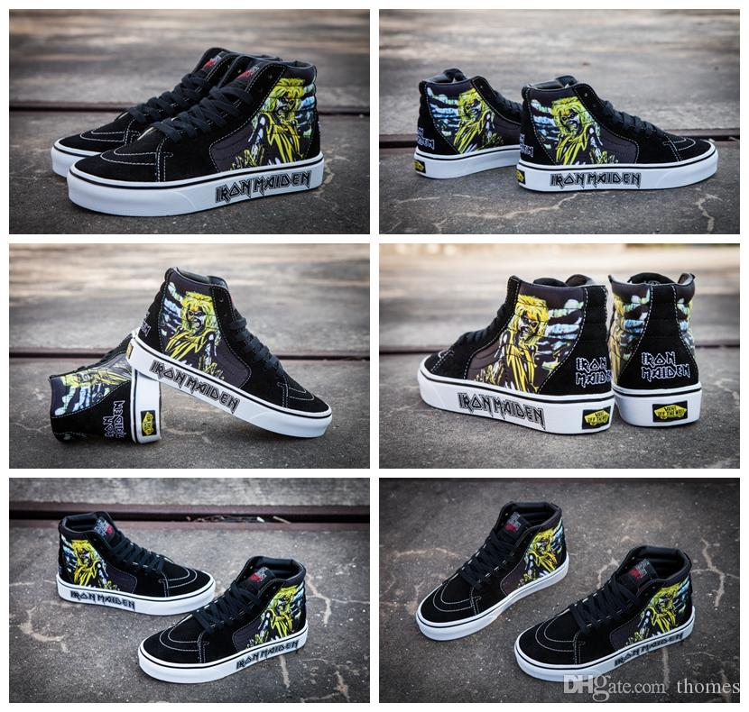 Iron Maiden Vans Shoes   Shipped