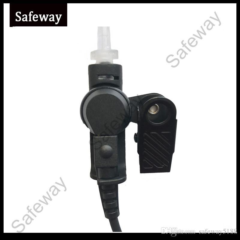 2 fios de rádio em dois sentidos fone de ouvido tubo de fone de ouvido com microfone PPT mic para Motorola GP88 GP300 CP200 CT150 CP040 para HYT