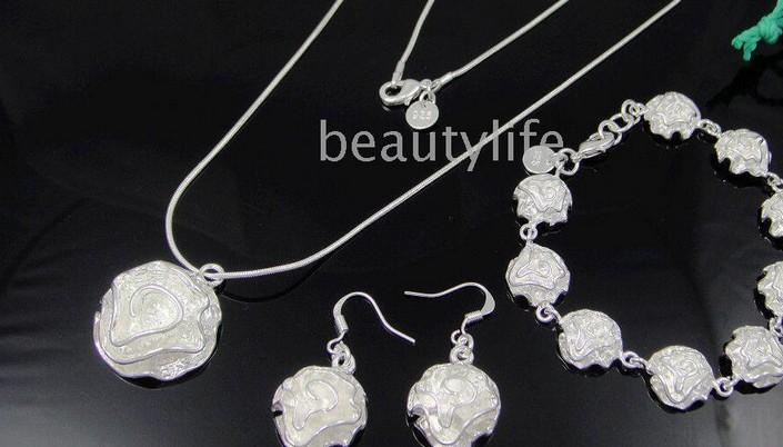 Wholesale 925 Necklace+ Bracelet+ Earring Support mixed batch 09