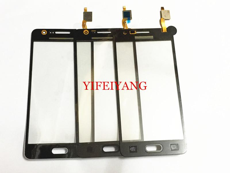 10 adet En Iyi OEM 100% Test Dokunmatik Ekran Digitizer Cam Panel Paneli Samsung Galaxy Grand Başbakan G531 G531F G531H