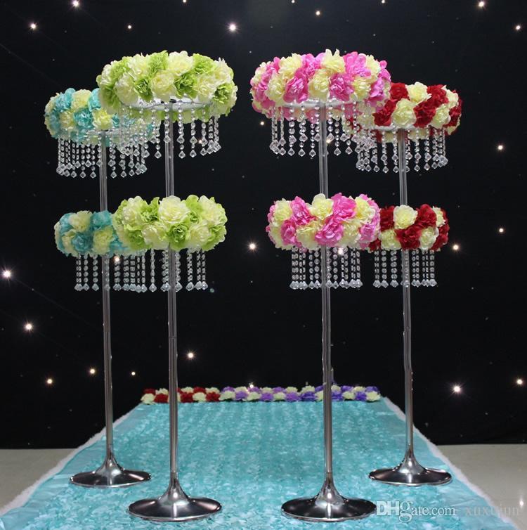 Rueda de la fortuna acrílico cristalino camino de la boda centro de la boda evento boda decoración / evento decoración del partido para la mesa
