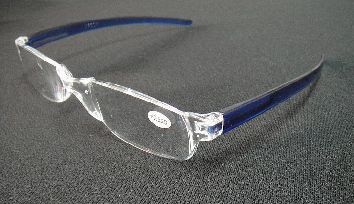 (/ロット)ユニセックス透明読み取りメガネプラスチックリーダー+1.00から+ 4.00
