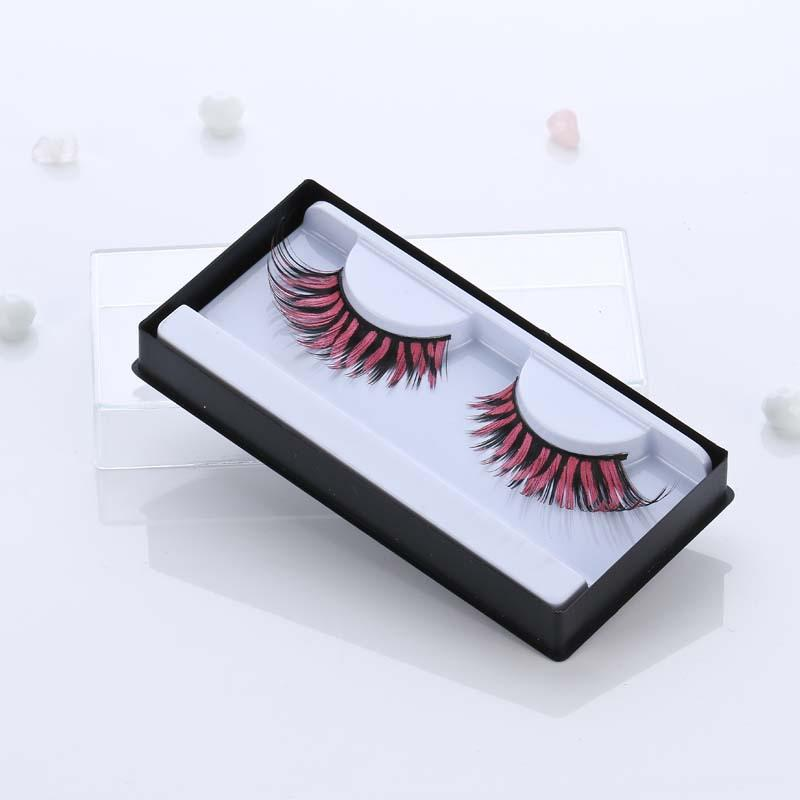 Eyelashes Wholesale 15cm Long Color Feathers Dense Stage