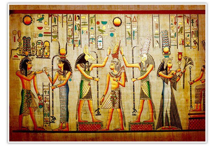 Al por mayor-murales-fondos de pantalla 3d decoración para el hogar papel tapiz de fondo Foto antigua civilización egipcia Mayas hotel mural mural grande arte mural