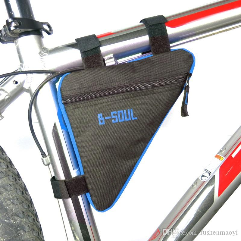 Ride Equipments Accessories Bicycle Triangle Beam Bags Mountain Bike Outdoor Sport portable bags Oxford Cloth Triangle Bags DHL Free shippin