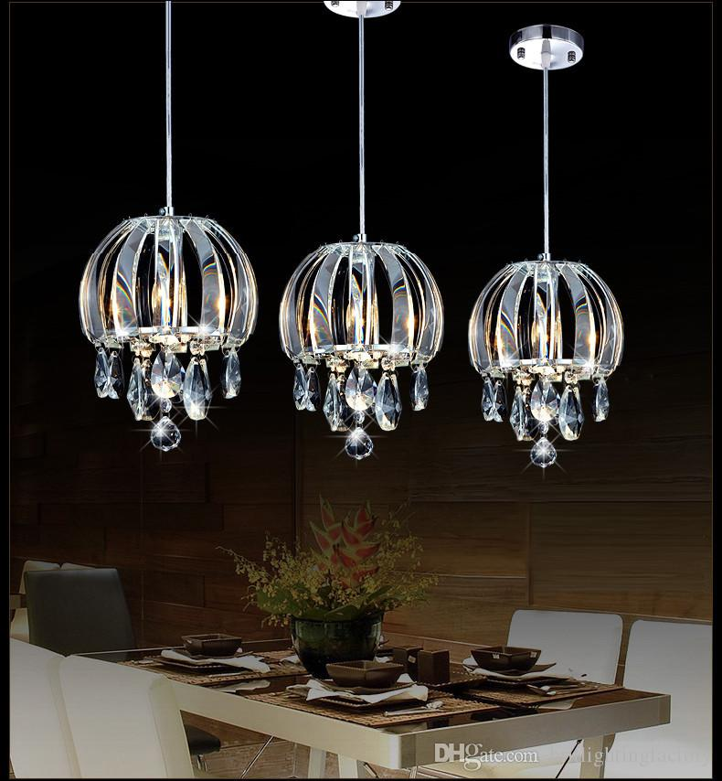 Pendant Lamp Cord Three Lights Crystal Pendant Lamps