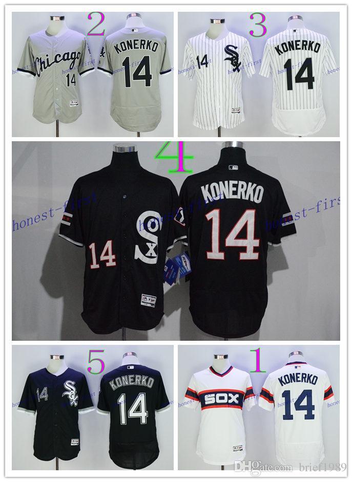 f8eb2448c ... ebay 2017 2017 cheap 14 paul konerko jersey baseball flexbase chicago  white sox jerseys pullover cool
