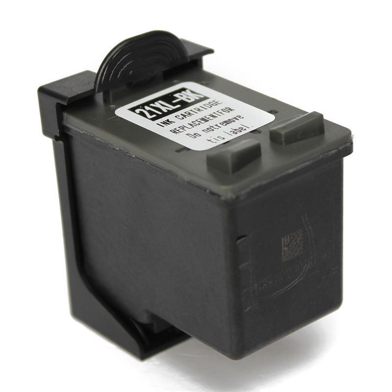 Cartuccia d'inchiostro compatibile con stampante rigenerata di qualità eccellente per hp21 21 XL nero per HP D2330 / D2360 / D2460 / F310 / fax 1250