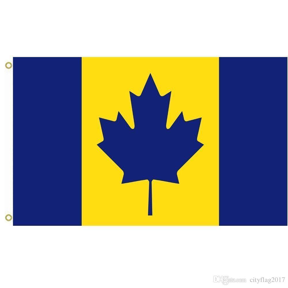 Compre Canadá Recolour El Maíz Y Azul Michigan Wolverines Bandera ...