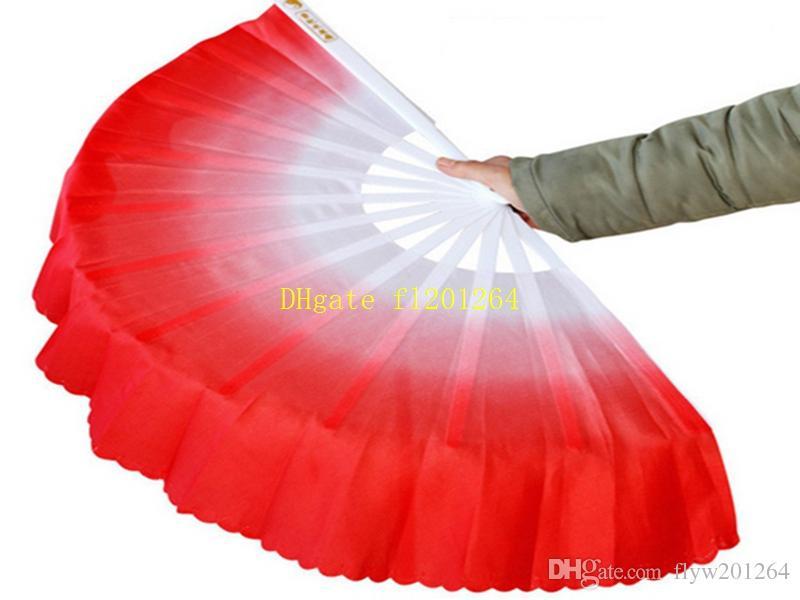10 шт. / Лот Бесплатная Доставка Новое Прибытие Китайский танец веер шелковая вуаль 5 цветов Для Свадьбы пользу подарок
