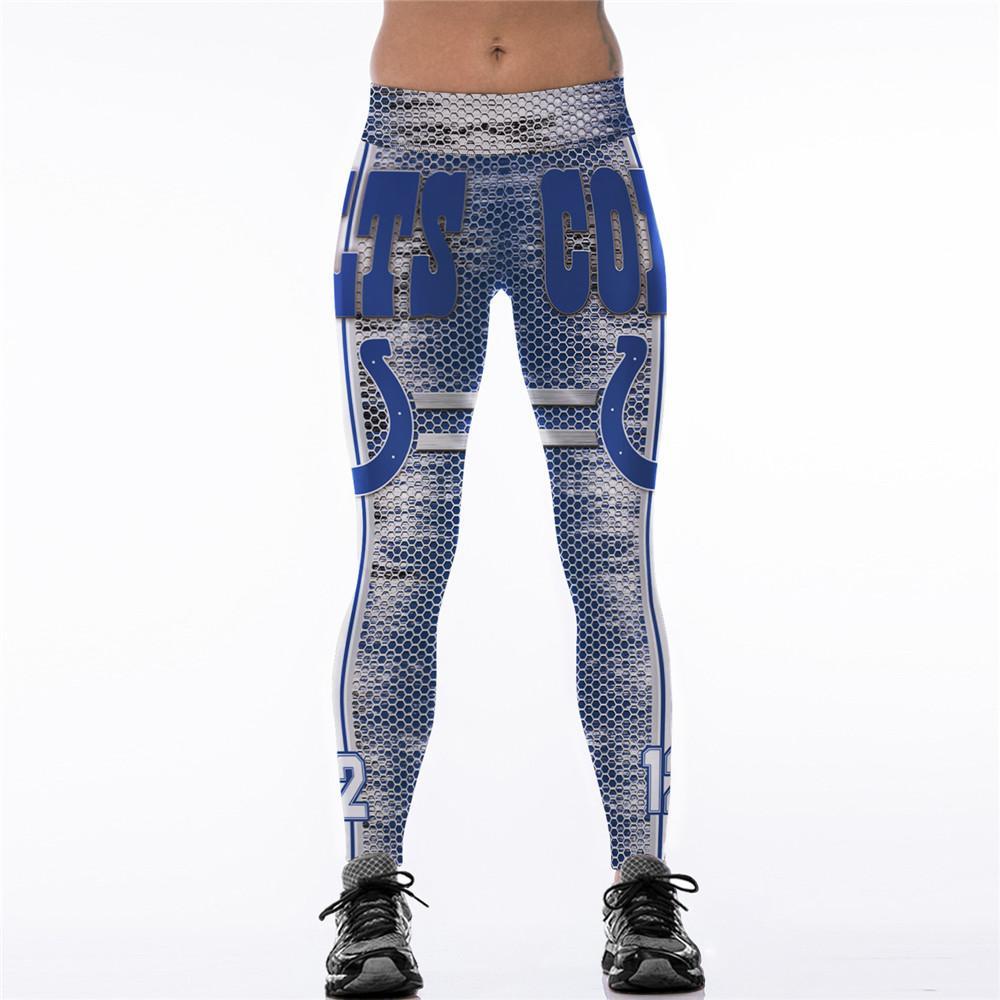 Aptidão das mulheres Sexy Magro Leggings Sweatpants Para A Mulher 3D Impressão de Cintura Alta Treino Athleisure Elastic Calças Skinny 4XL