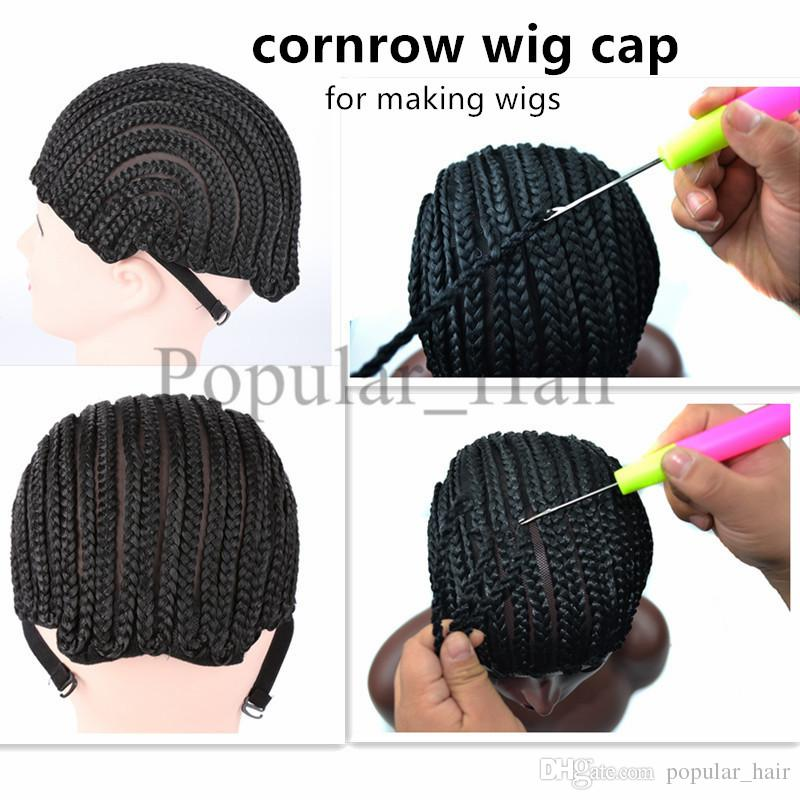 Wholesale Cornrow Wig Caps For Making Wigs With Adjustable Strap