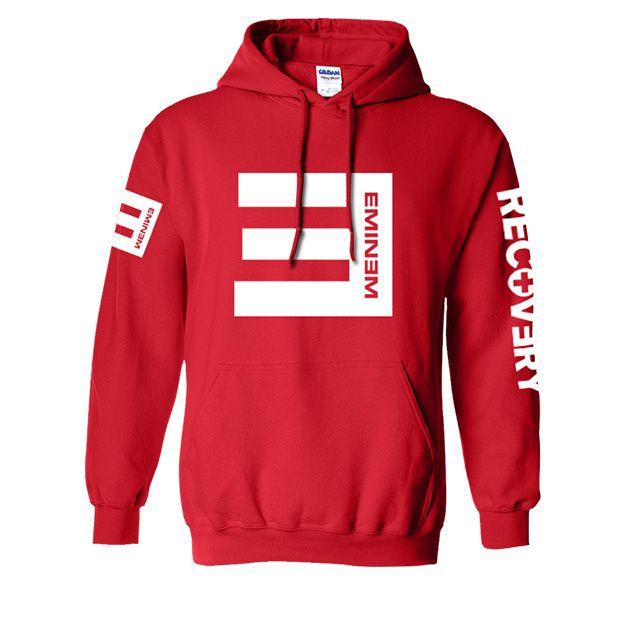 Eminem RECOVERY NOT AFRAID Hoodie Nueva sudadera de moda para hombre y niño Sudaderas con capucha de algodón