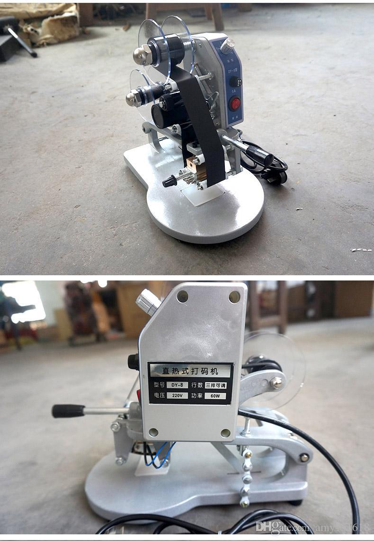 Data di confezionamento e stampa della macchina da stampa a getto d'inchiostro a mano a nastro a codice macchina da imballaggio e data di stampa e numero di lotto