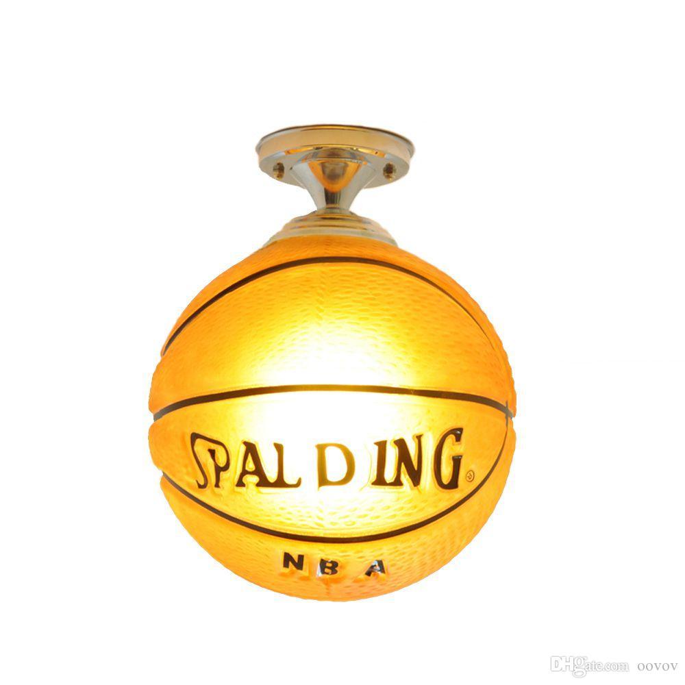 OOVOV Creative Cartoon Basketball Childrenu0027s Room Ceiling Lamp Lifelike  Boys Room Ceiling Lights Baby Room Ceiling Lamps Fixtures Baby Room Ceiling  Lamp ...