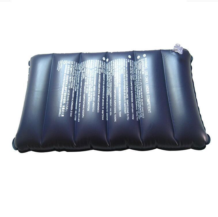 New Outdoor Portable Folding Air Inflatable Pillow Travel Camping Air Sleep Bag Pillow Airplane Table Nap Back Mat Free Shiping