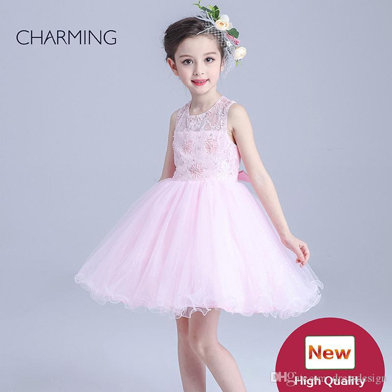 e3047acc6901f Pink Flower Girl Dresses China Buy Online Kids Dresses For Sale Best China  Wholesale High Quality Flower Girl Dresses For Girls For Party Girls  Wedding ...