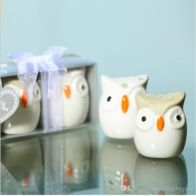 Hot Selling OWL-Always Love U salt and pepper shaker Seasoning pot new designs in good price high quality