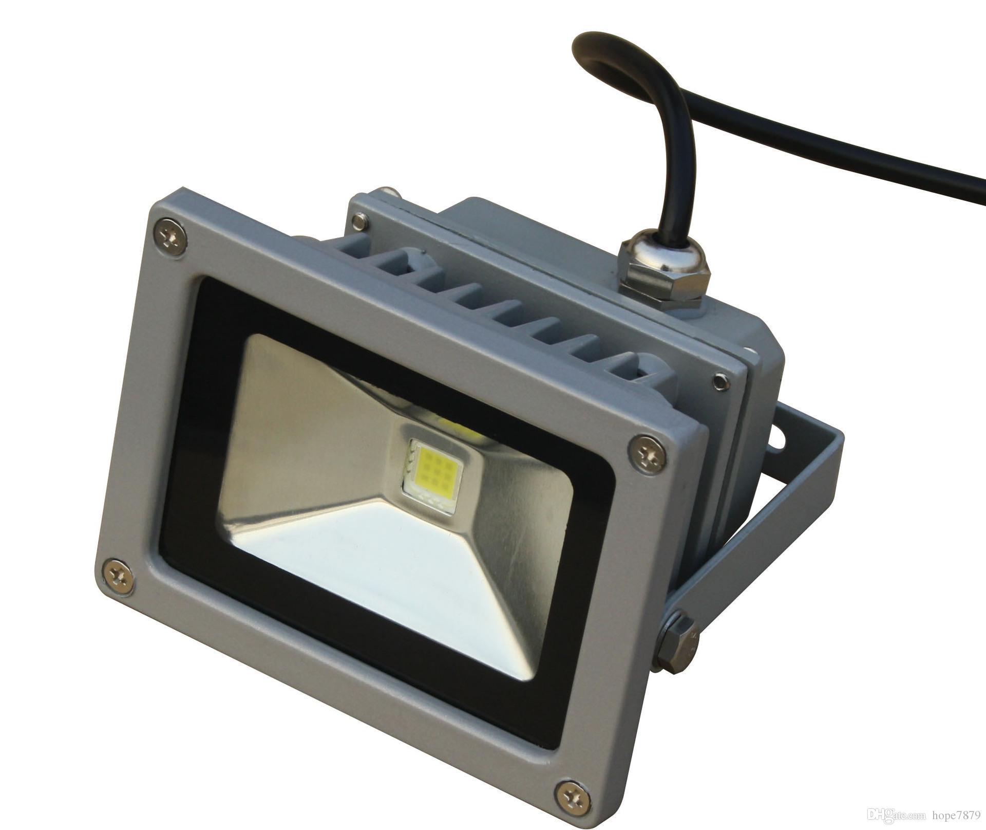 AC12V 24V 10W LED Proiettori a luce di inondazione impermeabile illuminazione a led esterni illuminazione esterni