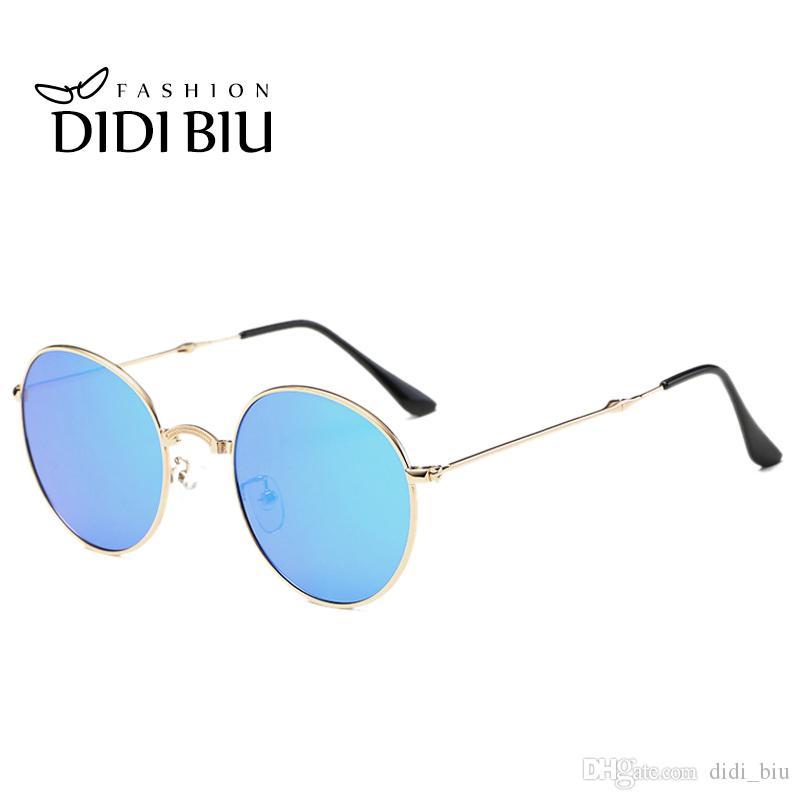 Compre Didi Pequeños Hombres Redondos Gafas De Sol Polarizadas ...