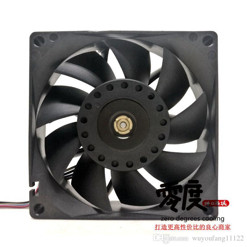 원래 Delta 8025 8CM 12V 0.80A FFB0812EH 스위치 서버 냉각 팬
