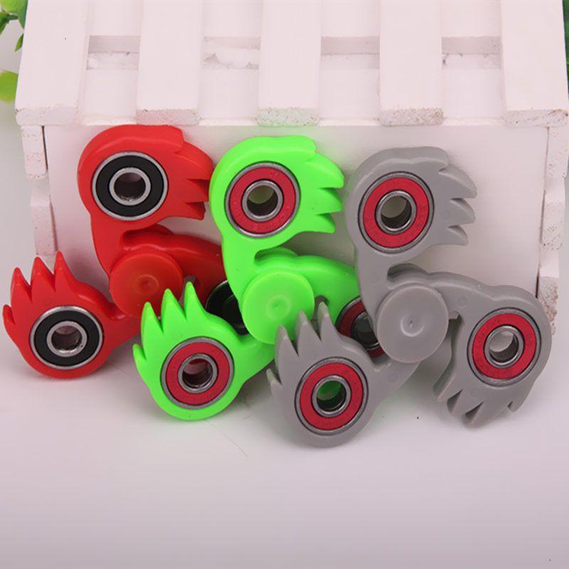 Tri Spinner Fid Toy Hand Spinner Plastic Edc Sensory Fid