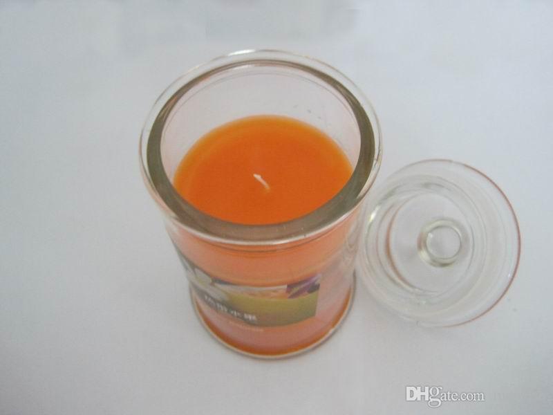 Velas aromáticas de 25-30 horas Vela de tarro con una variedad de fragancias, velas de aromaterapia de cera de parafina con aroma de vela Código de producto: 75-1011
