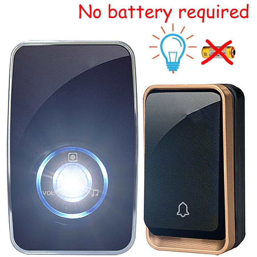 2017 New Led Night Light Wireless Doorbell No Battery Waterproof Light  Control Sensor Smart Door Bell Chime Ac 220v Eu Plug Wall Lamp From  Lightnlight, ...