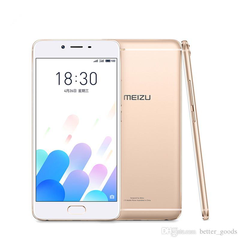 Original Meizu E2 Mobile Phone MTK Helio P20 Octa Core 4GB RAM 64GB ROM 5.5inch FHD 2.5D Glass 13.0MP mTouch Fingerprint Smart Cell Phone