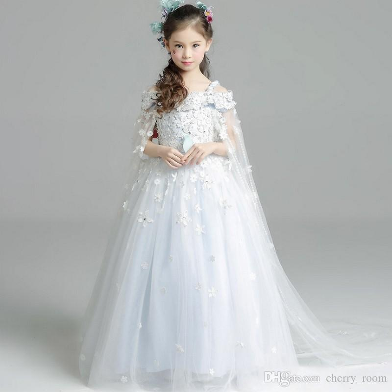 Online Cheap Junior Bridesmaids Dresses Flower Girls Party Dress New ...
