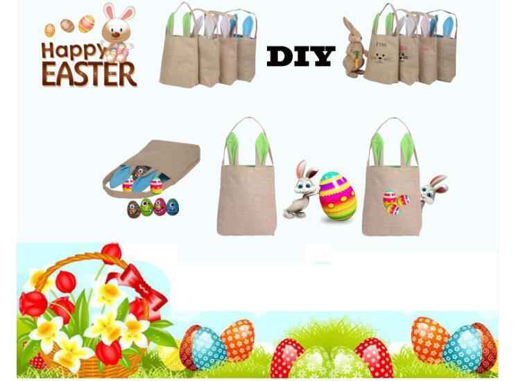 Easter gift bag rabbit ears cotton casual shopping bag put easter rabbit ear bag 2 negle Images
