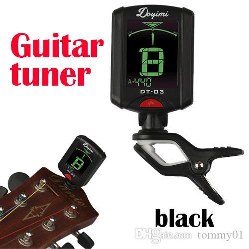 Hohe Qualität neue universelle Multi-Funktions-Gitarren-Tuner 12 durchschnittliche Gesetz Bass Yukriet Violine Tuner Gitarre Zubehör Großhandel