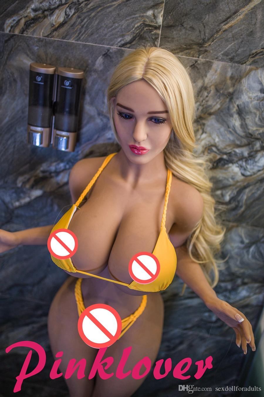 153cm Natural Color Silicone breast sex toy with Skeleton Lifelike Adult Girl Sex Real Love doll for Men