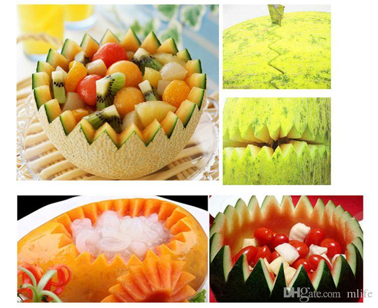 Double Head Dig Ball Scoop Spoon Baller Creative Assorted Cold Dishes Tools Watermelon Melon Fruit Carving Knife Cutter