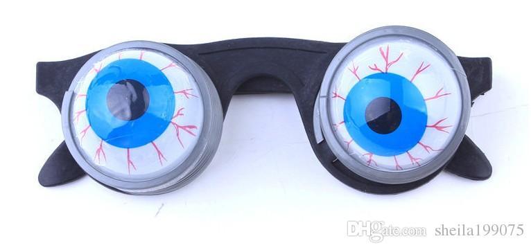 best selling pop eye glasses in novelty funny trick toys prank joke eye dropping