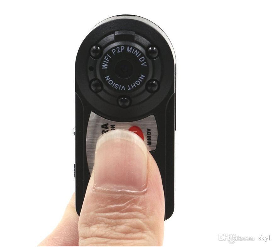 Q7 Mini Wifi DVR Caméscope IP sans fil Enregistreur Vidéo Caméra Caméra de vision nocturne infrarouge Détection de mouvement Microphone intégré