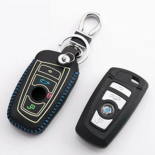 Generic Car Key Leather Case Holder Fob For Bmw 2 3 4 5 6 7 Series
