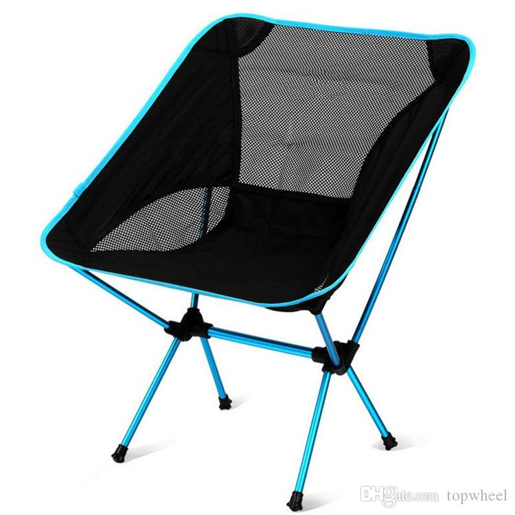 See larger image - Outdoor Camp Collapsible Chair Alluminum Alloy Super Light Foldable