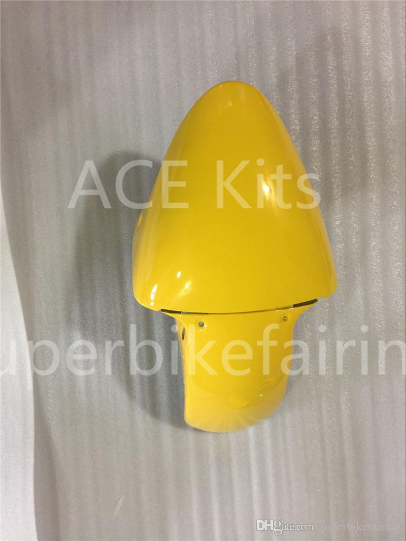 3 free gifts New Hot ABS Motorcycle Fairing kits 100% Fit For Kawasaki Ninja ZX-7R 1996 - 2003 ZX-7R Yellow White N.100