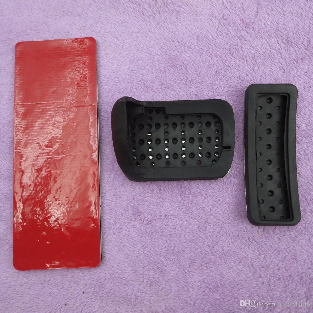 Car Accessories For Benz AMG A B CLA GLA ML GL R W176 W245 W246 W251 W164 W166 X164 X166 C177 X156 AT Brake Pedal Pads Stickers