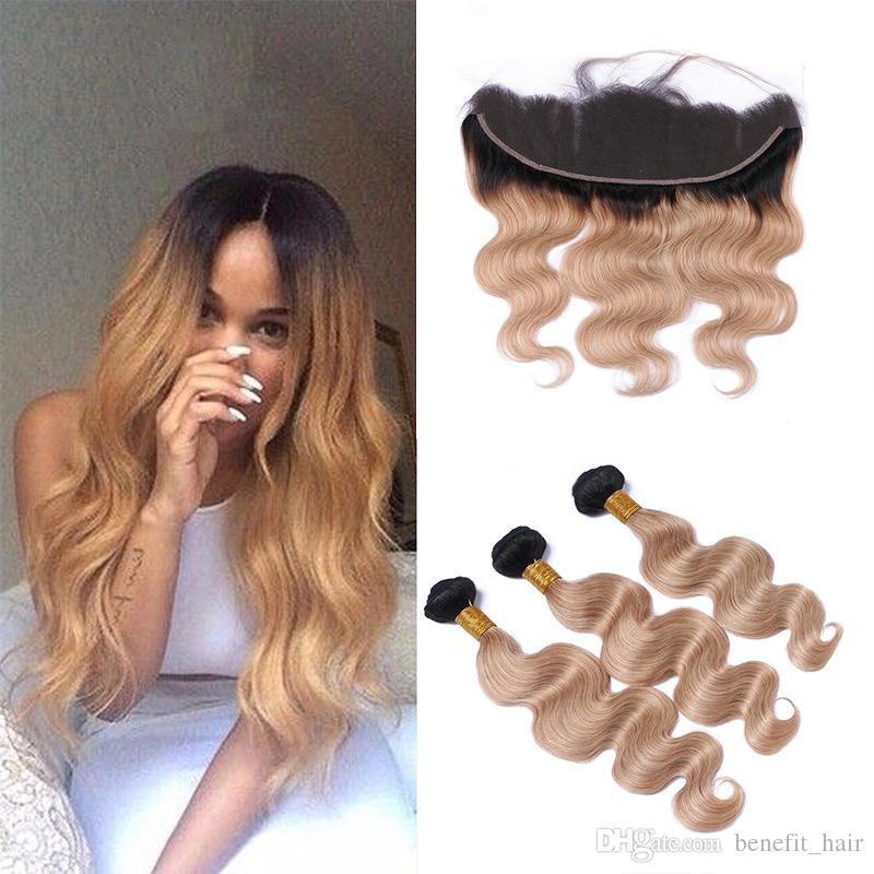 Factory Outlet 9a Ombre Hair Extensions 1b27 Honey Blonde Hair