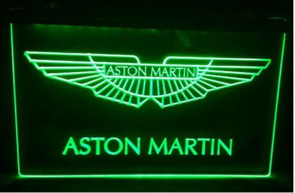 2019 aston martin beer bar pub club 3d signs led neon light sign home decor crafts from. Black Bedroom Furniture Sets. Home Design Ideas