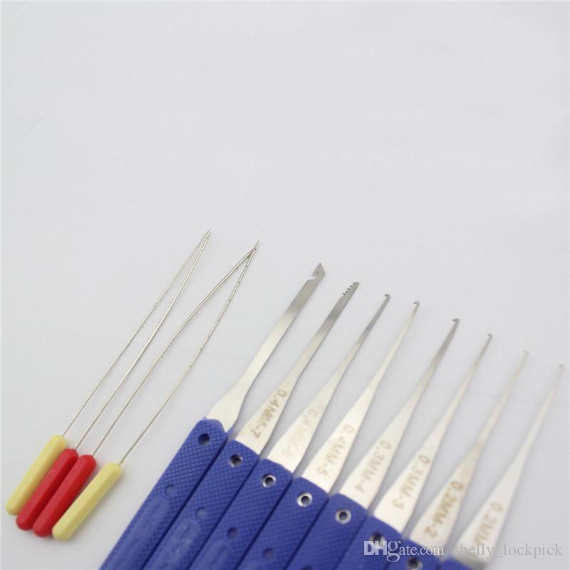 Хорошее качество КЛом 12 шт. сломанный ключ экстрактор комплект отмычку замок набор слесарные инструменты удаления крючки иглы