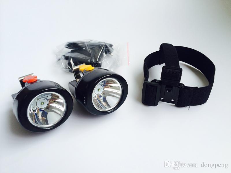 KL2.8LM A Birght Portatile Outdoor Adventure Wireless Cordless LED Mining Headlamp Caccia Lampada di Caccia Luce di Campeggio Spedizione Gratuita