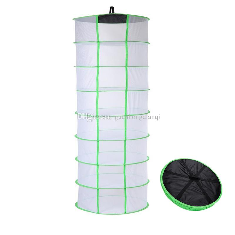 2018 Hanging Drying Net 8 Tier Hydroponic Grow Tent Dry Rack Help Dry Herbs Bud Flowers Plant Material Clothes Easily From Guanhongdianqi $24.82 | Dhgate.  sc 1 st  DHgate.com & 2018 Hanging Drying Net 8 Tier Hydroponic Grow Tent Dry Rack Help ...