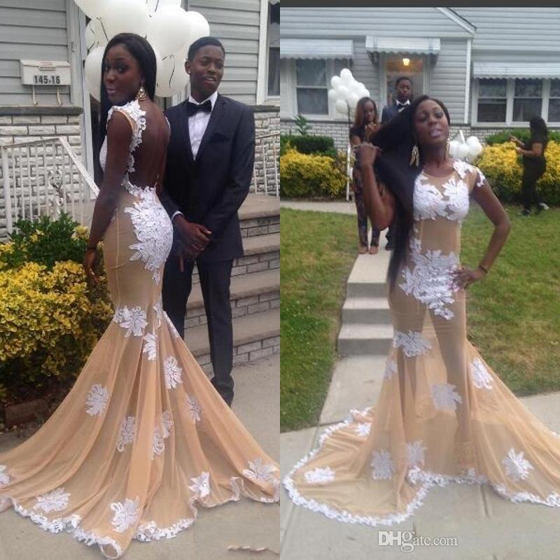 Woman Prom Dress