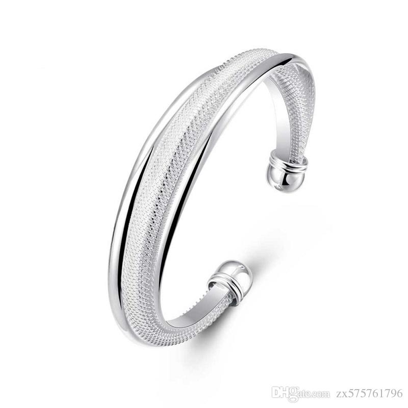 silver gallery vine lyst jewelry in product bracelet metallic buccellati leaf cuff normal sterling