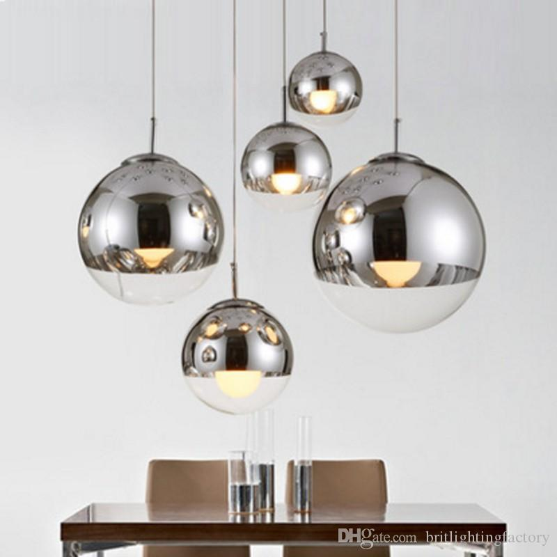 Modern pendant lamps mirror ball glass linear suspension pendant modern pendant lamps mirror ball glass linear suspension pendant lights for dinning room globe glass home bar cafe shade hanging lighting stained glass audiocablefo