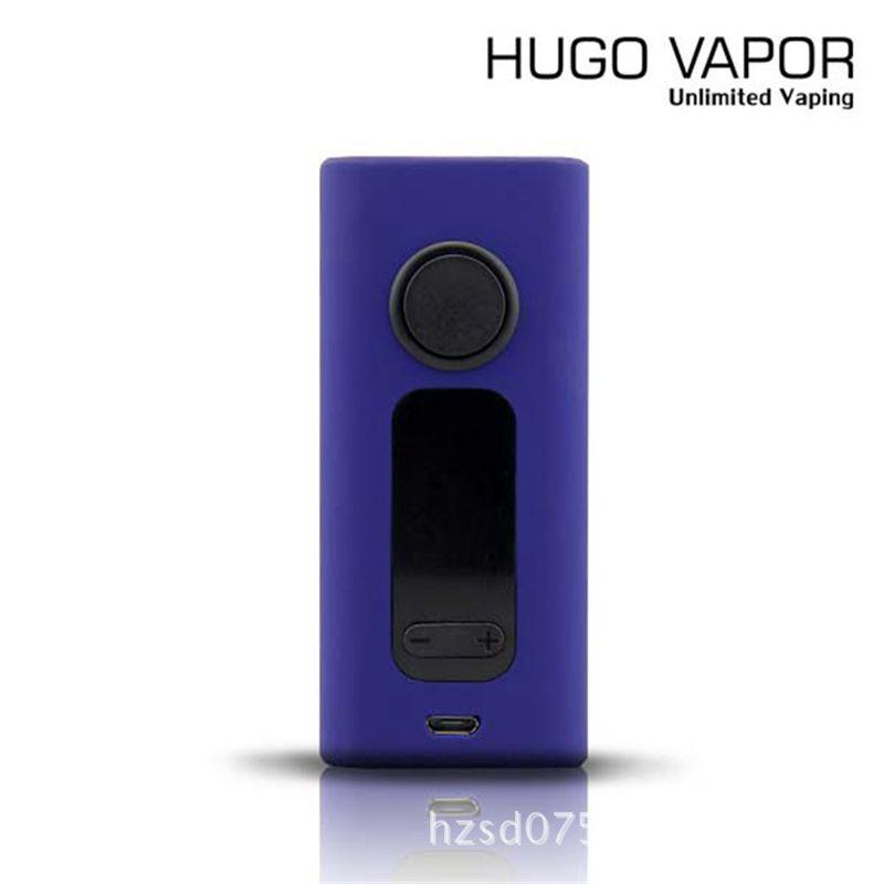Original HUGO VAPO Boxer V 2.0 Box Vape Mods Genuíno Boxer 2.0 Vaporizador Mod 1W-188W Enorme Vapor TC Mods 5 Cores Ilimitado Vaping DHL Livre