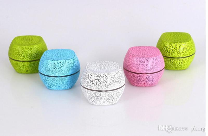 Neueste Qualität Mini G2000 LED Bluetooth Lautsprecher Stereo Tragbare Subwoofer Bunte LED Drahtlose Bluetooth Lautsprecher Soundbox